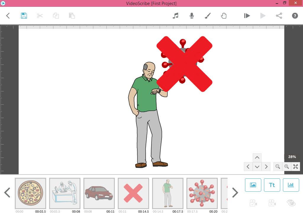 وارد کردن تصاویر اسلاید سوم - آموزش انیمیشن VideoScribe