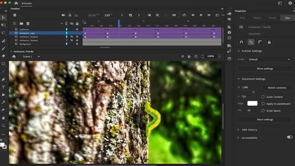 معرفی نرم افزار Adobe Animate