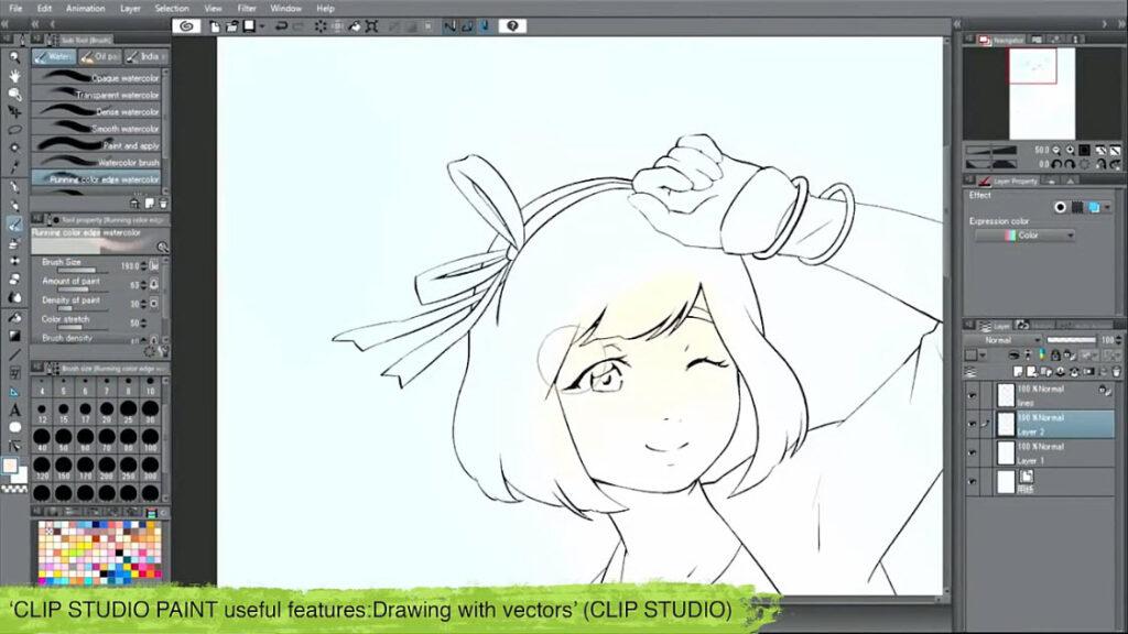 معرفی نرم افزار Clip Studio Paint